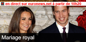 Mariage royal en direct