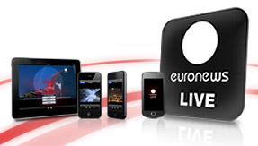 euronews live apps: for iPhone, iPad and Android devices